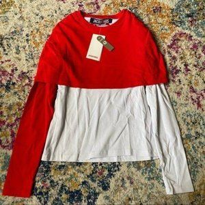 NWT Jacquemus Design Long Sleeves SIZE 34